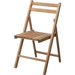 木製 折りたたみ コンパクト アウトドア チェア LFS-355NA| ミドルチェア 椅子 オイル仕上げ アカシア おしゃれ キャンプ ガーデン|bike-briller