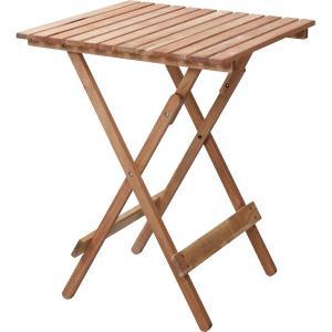 木製 折りたたみ アウトドア テーブル LFS-356NA| 持ち運びデスク テーブル 机 オイル仕上げ アカシア おしゃれ キャンプ ガーデン|bike-briller