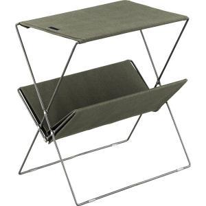 MDF天板 折りたたみ グリーン フォールディング サイドテーブル |収納 丈夫 テラステーブル レジャーテーブル おしゃれ アウトドア キャンプ グランピング|bike-briller