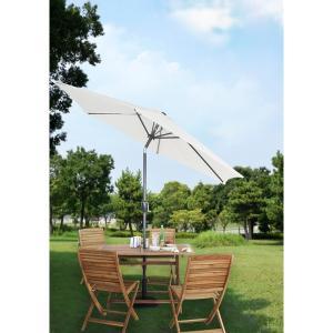ガーデンパラソル ガーデンテラス ナチュラル 日傘 265cm RKC-527NA| 折り畳み グランピング キャンプ 庭 東谷 サンシェード アウトドア|bike-briller
