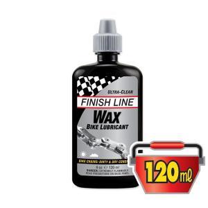 FINISH LINE(フィニッシュライン) ワックス バイク ルブリカント 120ml プラボトル/WAX BIKE LUBRICANT(潤滑剤)(ワックスタイプ)|bike-king