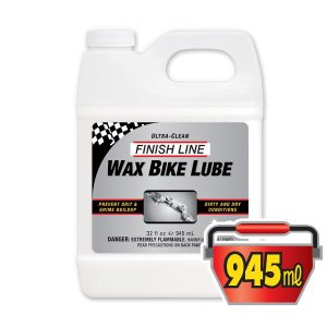 FINISH LINE(フィニッシュライン) ワックス バイク ルブリカント 945ml プラボトル/WAX BIKE LUBRICANT(潤滑剤)(ワックスタイプ)|bike-king