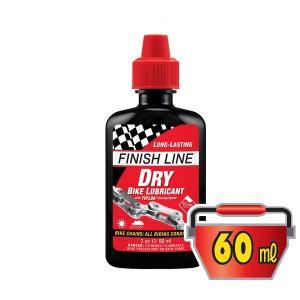 FINISH LINE(フィニッシュライン) ドライ バイク ルブリカント 60ml プラボトル/DRY BIKE LUBRICANT(潤滑剤)(ドライタイプ)|bike-king