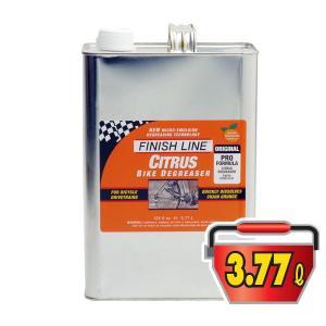 FINISH LINE(フィニッシュライン) シトラス バイク チェーン ディグリーザー 3.77L缶/CITRUS BIKE CHAIN DEGREASER(洗浄剤)(柑橘類脱脂剤使用)|bike-king