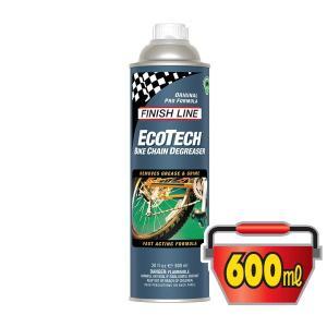 FINISH LINE(フィニッシュライン) エコテック バイク チェーン ディグリーザー 600ml 缶/ECOTECH BIKE CHAIN DEGREASER(洗浄剤)(強力かつ安全な洗浄力)|bike-king