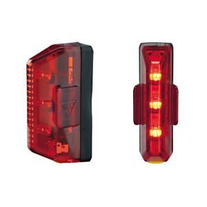 TOPEAK(トピーク) リアライト(LED) レッドライト エアロ(LPT06400)|bike-king