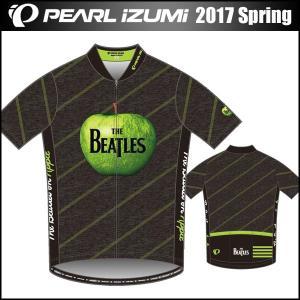 THE BEATLES(ザ ビートルズ) サイクルプリントジャージ アップル 数量限定 パールイズミ 2017年 春夏モデル S621-B|bike-king