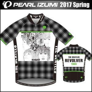 THE BEATLES(ザ ビートルズ) サイクルプリントジャージ リボルバー 数量限定 パールイズミ 2017年 春夏モデル S621-B|bike-king
