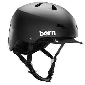 bern バーン MACON VISOR ヘルメット Matte Black (BE-VM2EHMBKV)|bike-king