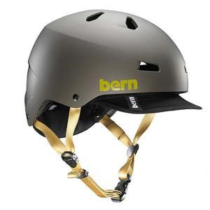 bern バーン MACON VISOR ヘルメット Matte Charcoal (BE-VM2HMCGV)|bike-king