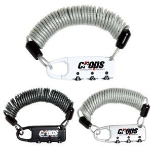 CROPS クロップス CP-SPD02 スパイダー 2.5x1800mm ワイヤーロック