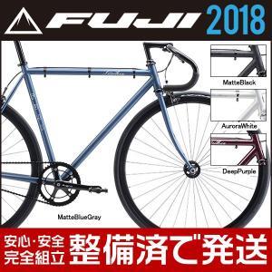 FUJI(フジ) 2018年モデル フェザー FEATHER シングルスピード ピストバイク|bike-king
