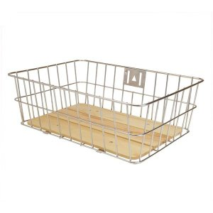 GP(ギザプロダクツ) ウッド ボトム バスケット/Wood Bottom Basket (BKT05500)(フロントバスケット)(GIZA PRODUCTS) bike-king