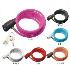 GP(ギザプロダクツ) WL147 ケーブルロック 1,800mm コイル ケーブル/WL147 Cable Lock (LKW171)(鍵式)(コイルケーブル)(GIZA PRODUCTS)|bike-king