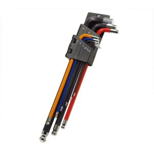 GP(ギザプロダクツ) 9 本 アレンキー セット/9 Hex Key Wrench Set (TO...