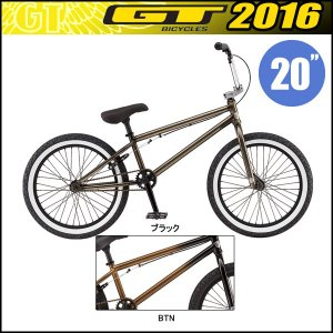 GT(ジーティ)BMX2016年モデルパフォーマー/PEFORMER(20インチ)|bike-king