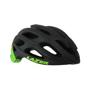 レイザー ブレイド AF マットブラック/グリーン ロード用 ヘルメット|bike-king