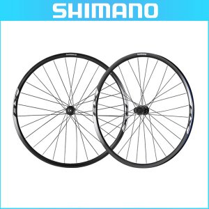 SHIMANO(シマノ) クリンチャーホイール WH-RX010 ブラック 前後セット OLD:100/135mm 10/11スピード対応 センターロックディスク用(ロード用ホイール) bike-king