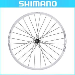 SHIMANO(シマノ) クリンチャーホイール WH-RX010 ホワイト フロントのみ OLD:100mm センターロックディスク用(ロード用ホイール)(自転車用) bike-king