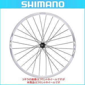 SHIMANO(シマノ) クリンチャーホイール WH-RX010 ホワイト リアのみ OLD:135mm 10/11スピード対応 センターロックディスク用(ロード用ホイール)(自転車用) bike-king