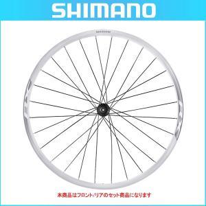 SHIMANO(シマノ) クリンチャーホイール WH-RX010 ホワイト 前後セット OLD:100/135mm 10/11スピード対応 センターロックディスク用(ロード用ホイール) bike-king