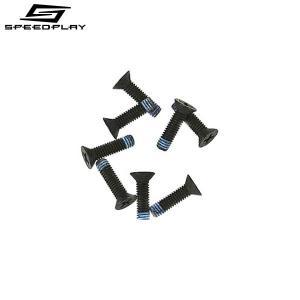 SPEEDPLAY スピードプレイ ウォーカブルクリートファスニングスクリューパック 4x8.5mm 24本入|bike-king