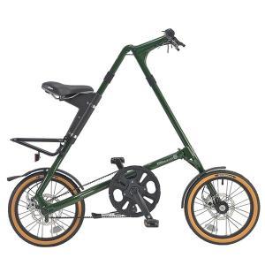STRiDA EVO16 イングリッシュグリーン 2019年モデル 折りたたみ自転車 bike-king