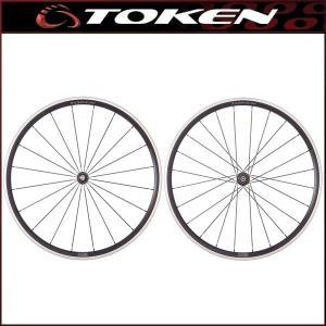 TOKEN(トーケン) EC30A Resolute アルミクリンチャーホイール 前後セット (シマノ/スラム対応)|bike-king