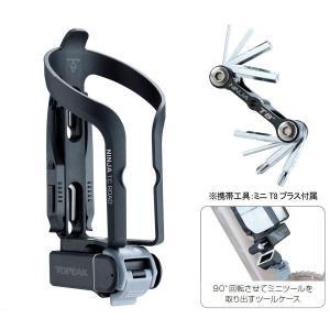 トピーク ニンジャ TC ロード/Ninja TC Road(ボトルケージ(ロード用))(タイヤレバー/携帯工具付き)(工具収納付き)(TOPEAK)|bike-king