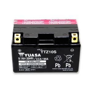 バイクバッテリー ユアサ YUASA  TTZ10S YTZ10S 10S  ドラッグスター R1 マグザム CBR1000RR 新品 1年補償 バイクパーツセンター bike-parts-center 02