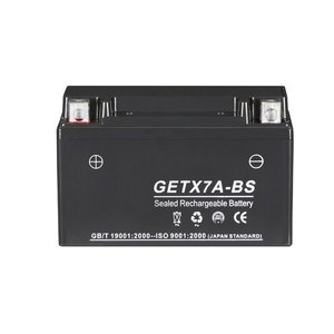 YTX7A-BS互換 GETX7A-BS バイクバッテリー ジェル 1年保証付 新品 アドレスV125/G CF46A 4EA バイクパーツセンター|bike-parts-center