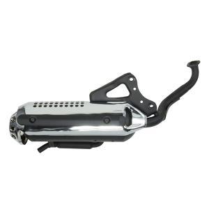 ホンダ ライブディオ/ZX AF34 AF35 規制後マフラー メッキカバー 新品 バイクパーツセンター bike-parts-center