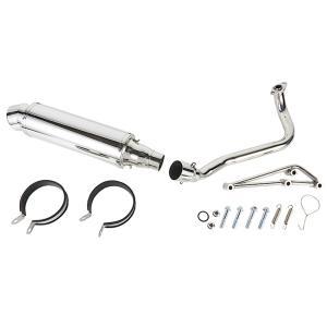ホンダ PCX JF28 カスタムマフラー ステンレス 新品 バイクパーツセンター|bike-parts-center