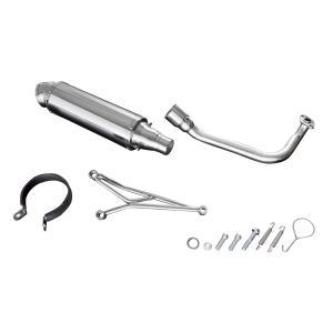 ホンダ Dio110 JF31ステンレスマフラー カスタム 新品 BREEZE110 バイクパーツセンター bike-parts-center