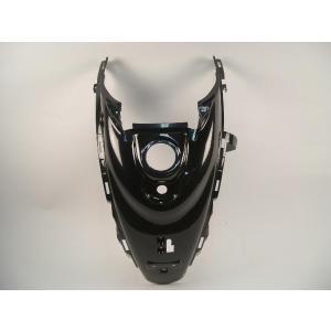 ヤマハ ビーノ 5AU リアタンクカバー(鍵穴有り) 黒 ブラック 新品 バイクパーツセンター bike-parts-center