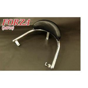 ホンダ フォルツァX/Z MF10 タンデムバー バックレスト付 32φ 新品 バイクパーツセンター|bike-parts-center