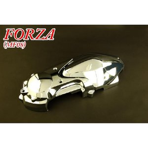 ホンダ フォルツァX/Z MF08 クランクケースカバー メッキ 新品 バイクパーツセンター|bike-parts-center