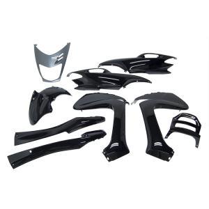ヤマハ マジェスティ125 5CA 外装セット 9点 黒 ブラック 新品 バイクパーツセンター|bike-parts-center