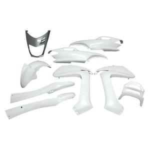 ヤマハ マジェスティ125 5CA 外装セット 9点 白 ホワイト 新品 バイクパーツセンター|bike-parts-center