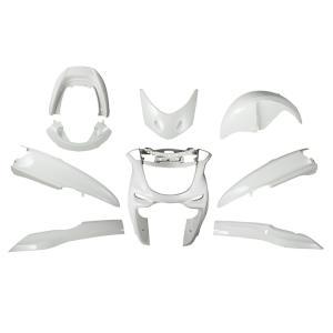 ヤマハ マジェスティ250/C SG03J 外装セット 9点 白 ホワイト 新品 バイクパーツセンター|bike-parts-center