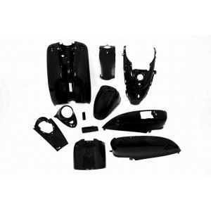 ヤマハ ビーノ 5AU 外装セット 10点 黒 ブラック 新品 バイクパーツセンター|bike-parts-center