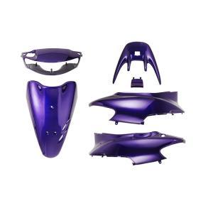 ホンダ ライブディオZX AF35 2型 外装セット 6点 黒 紫 新品 バイクパーツセンター bike-parts-center