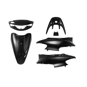 ホンダ ライブディオZX AF35 キーシャッター付車専用 外装セット 黒 ブラック 6点 新品 バイクパーツセンター bike-parts-center