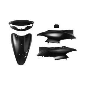 ホンダ ライブディオ AF34 キーシャッター付車 外装セット 5点 黒 ブラック 新品 バイクパーツセンター|bike-parts-center