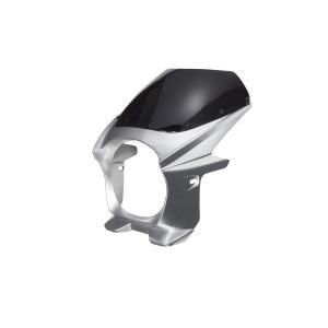汎用 ビキニカウル φ180 銀 シルバー 新品 フロントカウル バイクパーツセンター|bike-parts-center