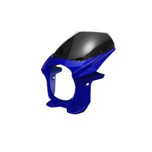 汎用 ビキニカウル φ180 青 ブルー 新品 フロントカウル バイクパーツセンター|bike-parts-center