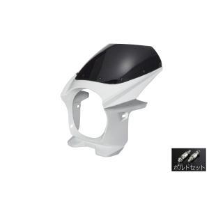 汎用 ビキニカウル φ180 ボルトセット 白 パールホワイト 新品 フロントカウル バイクパーツセンター|bike-parts-center