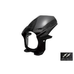 汎用 ビキニカウル φ180 ボルトセット 黒 ブラック 新品 フロントカウル バイクパーツセンター|bike-parts-center