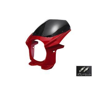 汎用 ビキニカウル φ180 ボルトセット 赤 レッド 新品 フロントカウル バイクパーツセンター|bike-parts-center