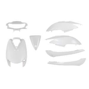 ホンダ ディオ AF62 AF68 外装セット 7点 白 ホワイト 新品 Dio カウルセット バイクパーツセンター|bike-parts-center
